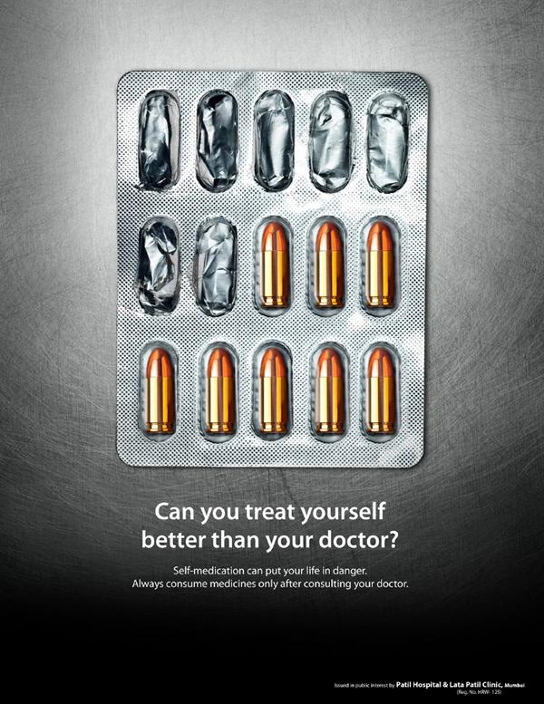 Nếu bạn uống thuốc không đúng chỉ dẫn của bác sĩ thì không khác nào bạn nuốt phải những viên đạn.