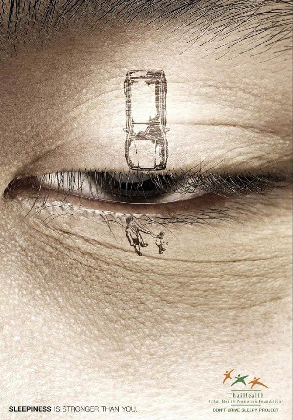 Hãy nghỉ ngơi thật tốt trước khi lái xe đường dài bởi khi hai mắt cụp xuống tai nạn có thể xảy ra bất cứ lúc nào.