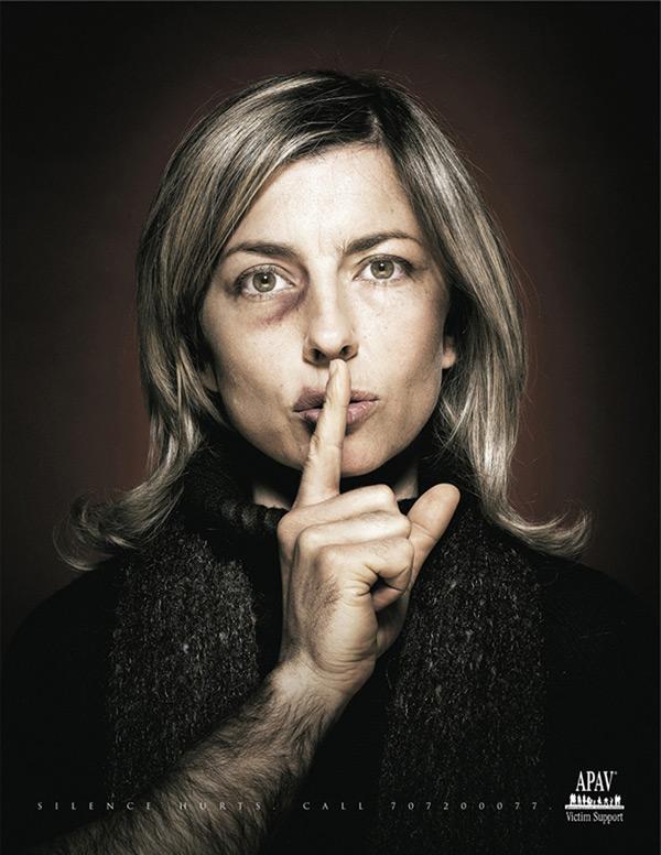 Phụ nữ không nói không có nghĩa họ không cần sự giúp đỡ. Hãy chung tay chống nạn bạo lực gia đình.