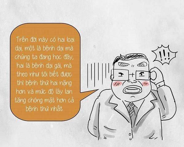 Cười Sái Quai Hàm Với Những Câu Nói Bá Đạo Nhất Của Thầy Cô Giáo