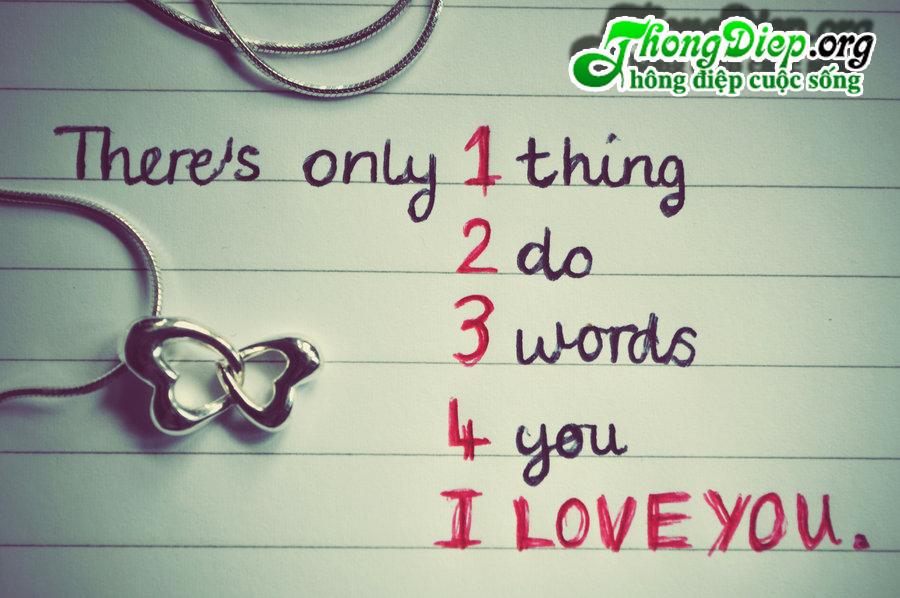 Chỉ có 1 nghĩa, 3 từ, 8 chữ cái..
