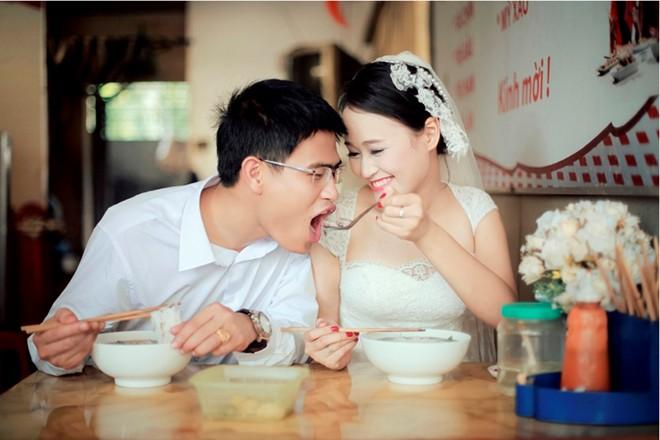 Bộ ảnh cưới vui nhộn: Cô dâu siêu quậy - chú rể nhút nhát 8