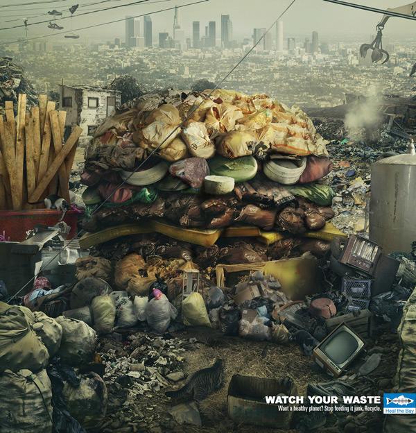 Hãy tái chế rác thải để Trái đất thêm khỏe mạnh.