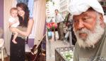 Cô gái trào nước mắt khi đọc mảnh giấy nhàu nát ông lão vô gia cư rách rưới dúi vào tay