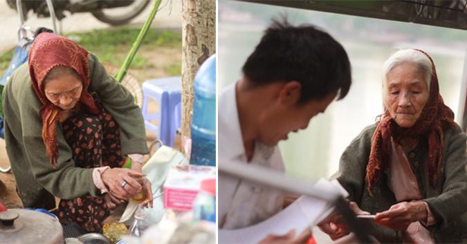 Mẹ già mù lòa bán trà đá, 46 năm nuôi con trai ngớ ngẩn