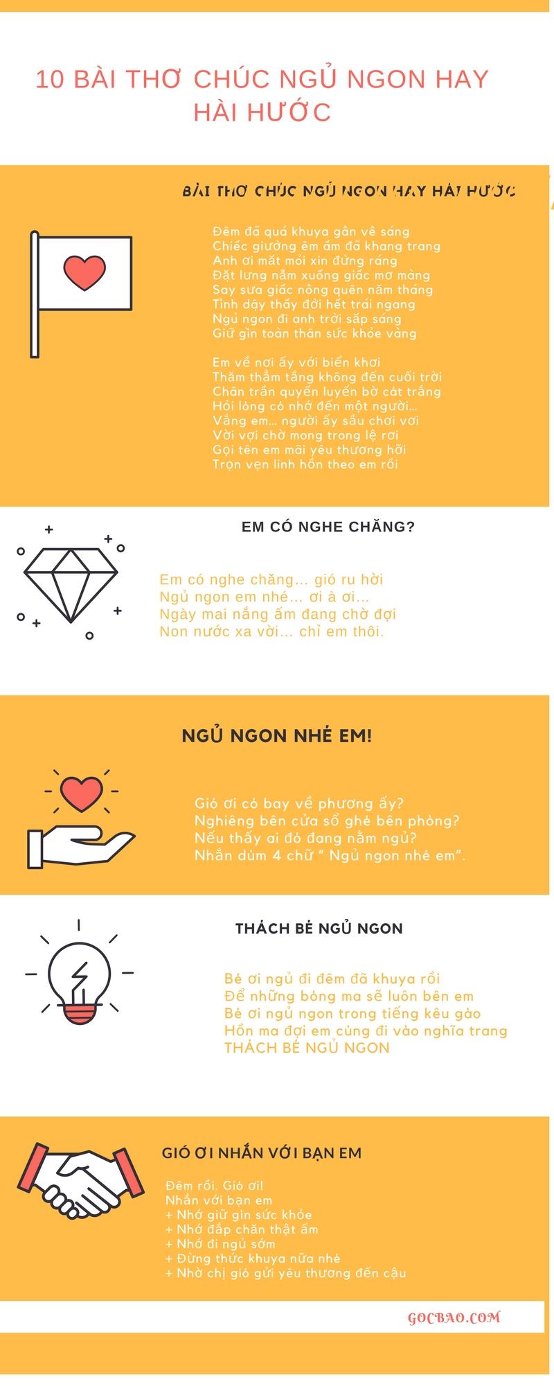 Top 10 Bài thơ Chúc Ngủ Ngon Hay Lãng Mạn Và Hài Hước Nhất