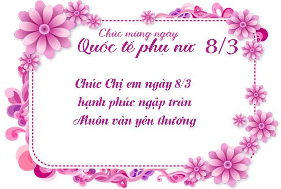 Bộ Sưu Tập 1000+ Tấm Thiệp Chúc Mừng Ngày 8/3 Đẹp Nhất