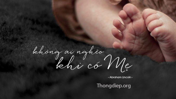 Những thông điệp về mẹ hay và ý nghĩa nhất!
