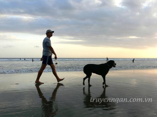 Đàn ông và...chó