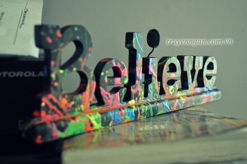 Hãy tin tưởng